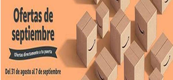 Ofertas de septiembre en Amazon