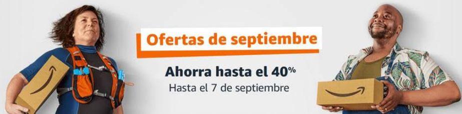 Ofertas de septiembre en Amazon con hasta –40%