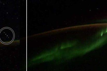 ¿Ovnis?: Un astronauta ruso capta cinco misteriosas luces en formación desde la Estación Espacial Internacional