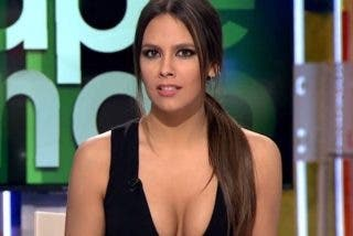 Un vestido le juega una mala pasada a Cristina Pedroche minutos antes de aparecer en 'Zapeando'
