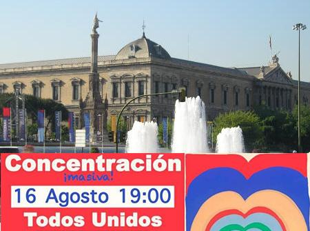 Concentración en Madrid por la libertad, contra las medidas anticientíficas y los bulos oficiales