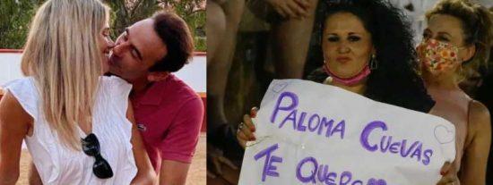 """Toda la verdad sobre las pancartas a favor de Paloma Cuevas: """"Es una señora y no se merece lo que hace Ponce"""""""