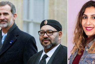 El vídeo que 'Dina-mita' a Bousselham: Así apoya al sátrapa Mohamed VI, pese a exigir el fin de Felipe VI
