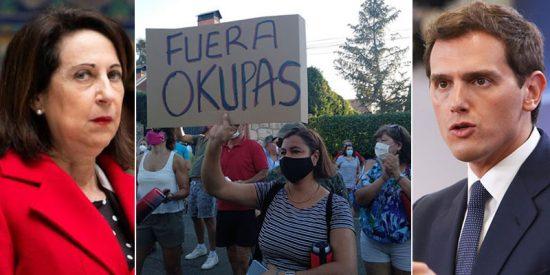"""La sandez de Margarita Robles sobre la okupación en España hace saltar hasta a Albert Rivera: """"Si le okuparan sus casas, ¿diría lo mismo?"""""""