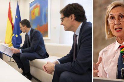 """Rosa Díez no lo soporta más: """"Esta gentuza del Gobierno es de cárcel"""""""
