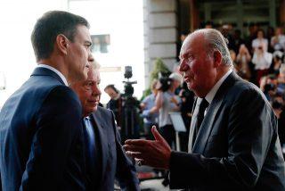 Moncloa arde: Don Juan Carlos vuelve a España en un mes con informes que fulminan a Iglesias y a Sánchez