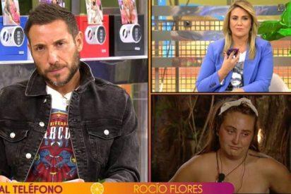 """Una """"desafortunada respuesta"""" de Rocío Flores a la prensa crispa a Antonio David: """"Ha perdido una oportunidad de oro"""""""