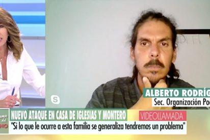 Colosal estacazo de Ana Terradillos al diputado podemita Alberto Rodríguez por defender las pantomimas de sus líderes