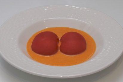 Tomates rellenos de ventresca, una receta rica y fresca