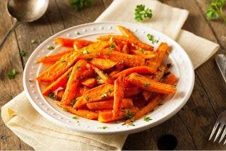 Zanahorias asadas,