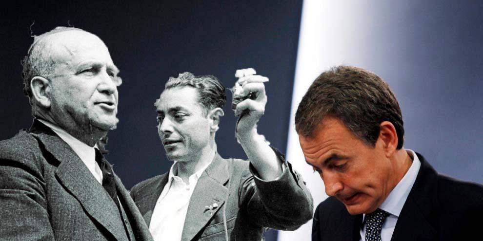 Madrid quita la calle a los socialistas Largo Caballero e Indalecio Prieto con la propia Ley de Memoria Histórica del PSOE