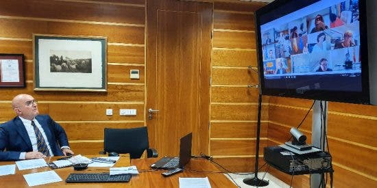 Carnero insiste al ministro de Agricultura en recuperar las tasas actuales de cofinanciación del Feader
