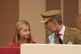 La Princesa Leonor lanza su primera amenaza a Podemos: hará la mili para conservar el apoyo del Ejército a Casa Real