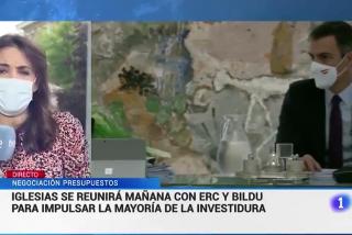 El lapsus de una reportera pone en un severo aprieto a la 'espantosa TVE' de Rosa María Mateo