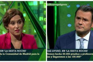 Zasca de Isabel Díaz Ayuso a Iñaki López a cuenta del falso comité de expertos de Pedro Sánchez
