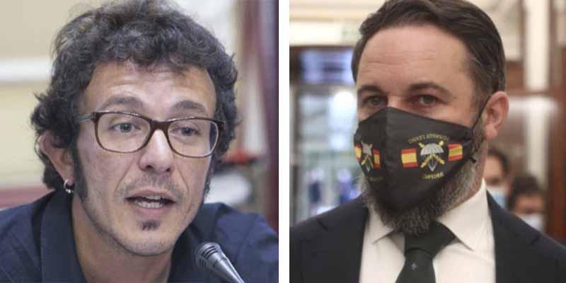 Estadio Santi Abascal: Al podemita Kichi le sale el tiro por la culata con su farsa de referéndum y el líder de Vox lo remata