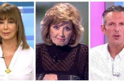 """Insólita disputa entre Ana Rosa Quintana y Joaquín Prat por María Teresa Campos: """"Debería ponerse un puntito en la boca"""""""