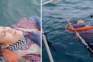 Llevaba dos años desaparecida y la encuentran flotando en medio del mar… ¡Viva!