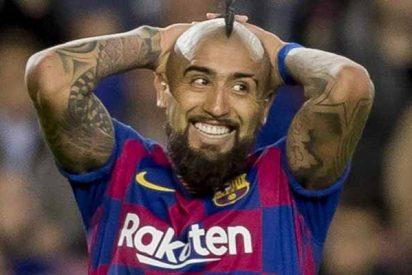 Twitter se mofa del Barça por la ridícula cifra que recibirán por el traspaso Arturo Vidal