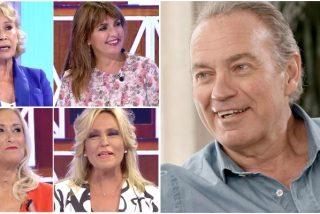 Bertín Osborne levanta pasiones entre sus compañeras: unacolaboradora de Mediaset confiesa que tendría un affaire con él