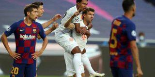 Sergi Roberto cuenta los detalles del vestuario del Barça tras caer humillados ante el Bayern