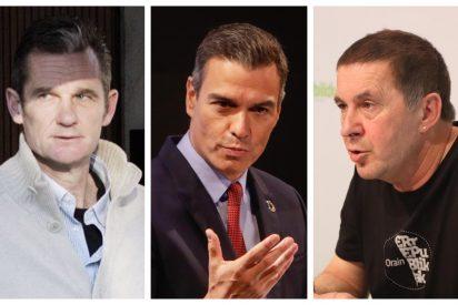 Urdangarin consigue el tercer grado 'a duras penas' mientras Sánchez beneficia a los presos etarras y catalanes