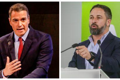 Abascal señala a Sánchez y sus palmeros como los culpables de la 'invasión mena'