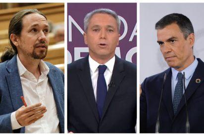 """Vicente Vallés cava la tumba de un Iglesias repudiado por Sánchez: """"Se enteró por los periódicos"""""""