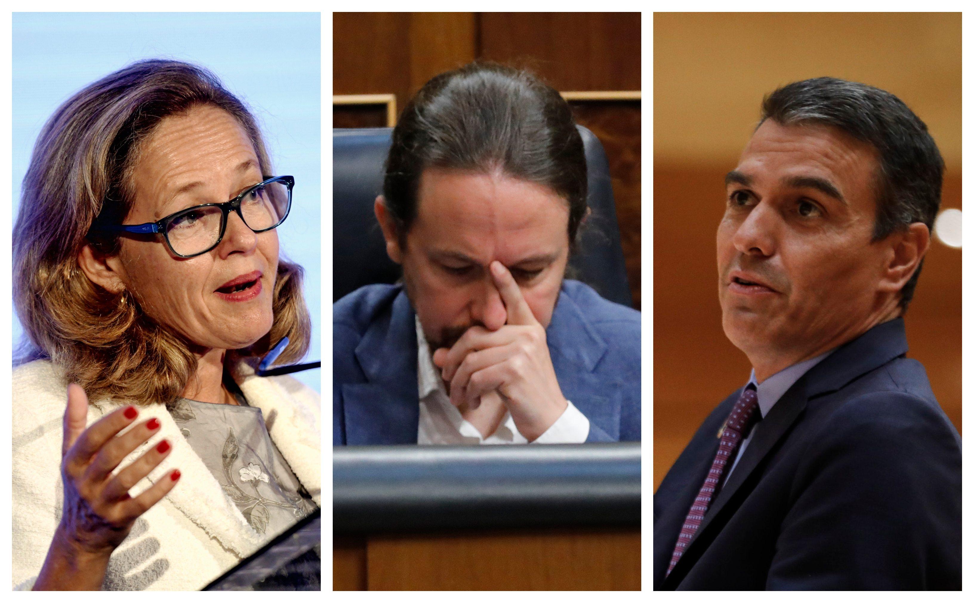 Calviño explica por qué no le dijeron ni palabra de la fusión Bankia-CaixaBank a un rabioso Iglesias