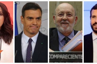 El CIS de Tezanos premia a Ciudadanos con la mayor subida por apuntalar a Sánchez y despeña al PP de Casado