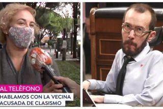 Brutal rapapolvo de la vecina de La Moraleja que deja a Echenique hecho un cromo desde Antena3