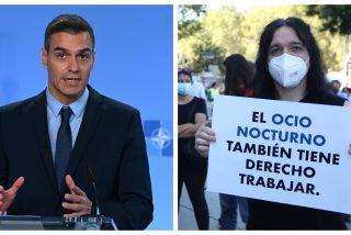 """El ocio nocturno no aguanta la inoperancia de Sánchez: """"Es increíble lo que está haciendo el Gobierno, ¡no podemos más!"""""""