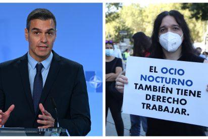 """El ocio nocturno no aguanta la inoperancia de Sánchez: """"¡No podemos más!"""""""