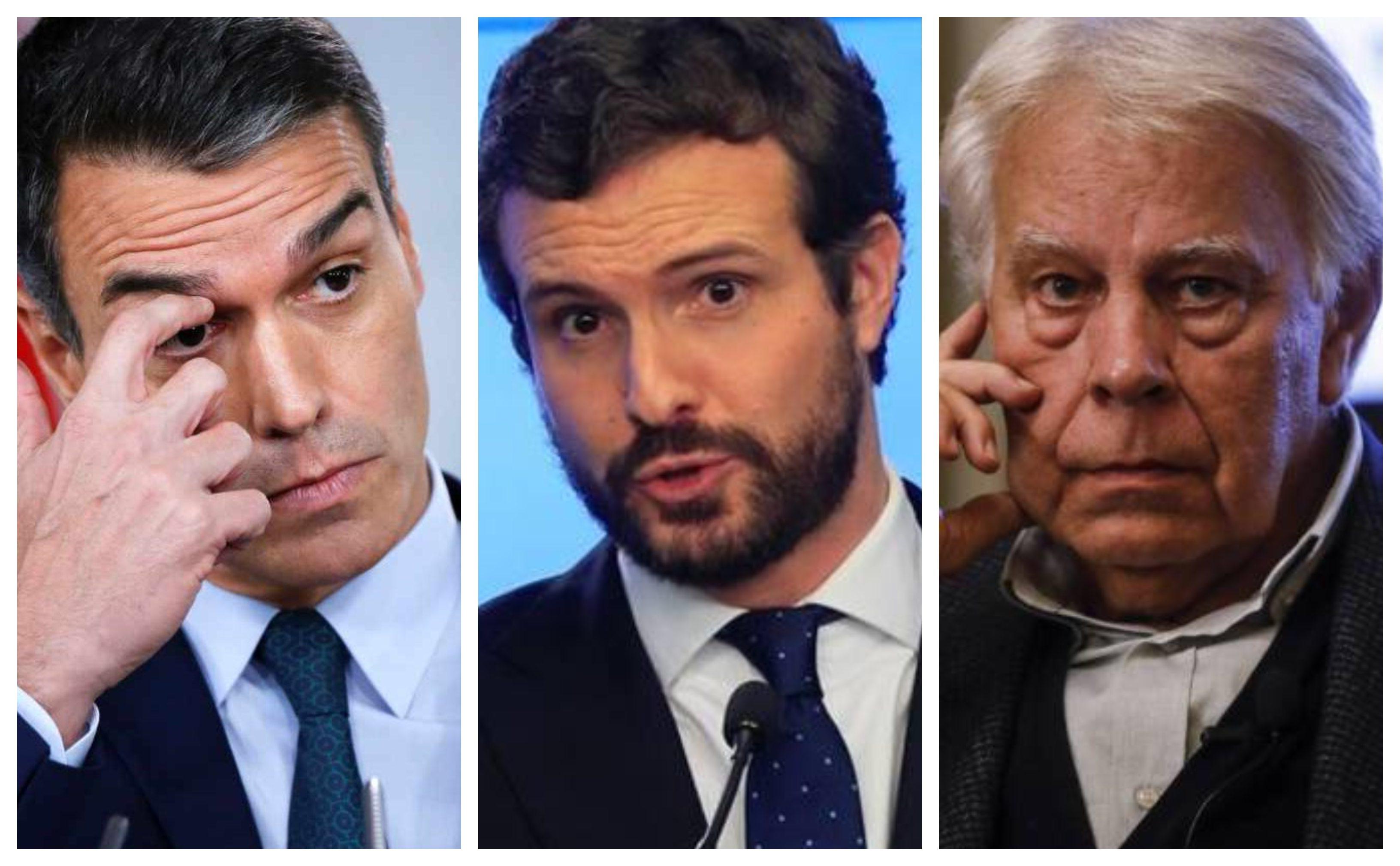 """Duro revés de Casado a Sánchez: """"Con el socialismo de Felipe González sí que podríamos pactar, pero él lo ha liquidado"""""""
