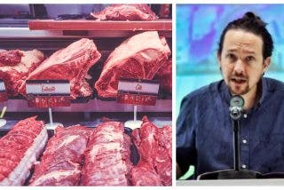 Asan a la parrilla a PSOE y Podemos en Collado Villaba por exigir que los lunes no se coma carne