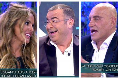 Mofas de Jorge Javier Vázquez y Kiko Matamoros hacia Marta López por votar a VOX