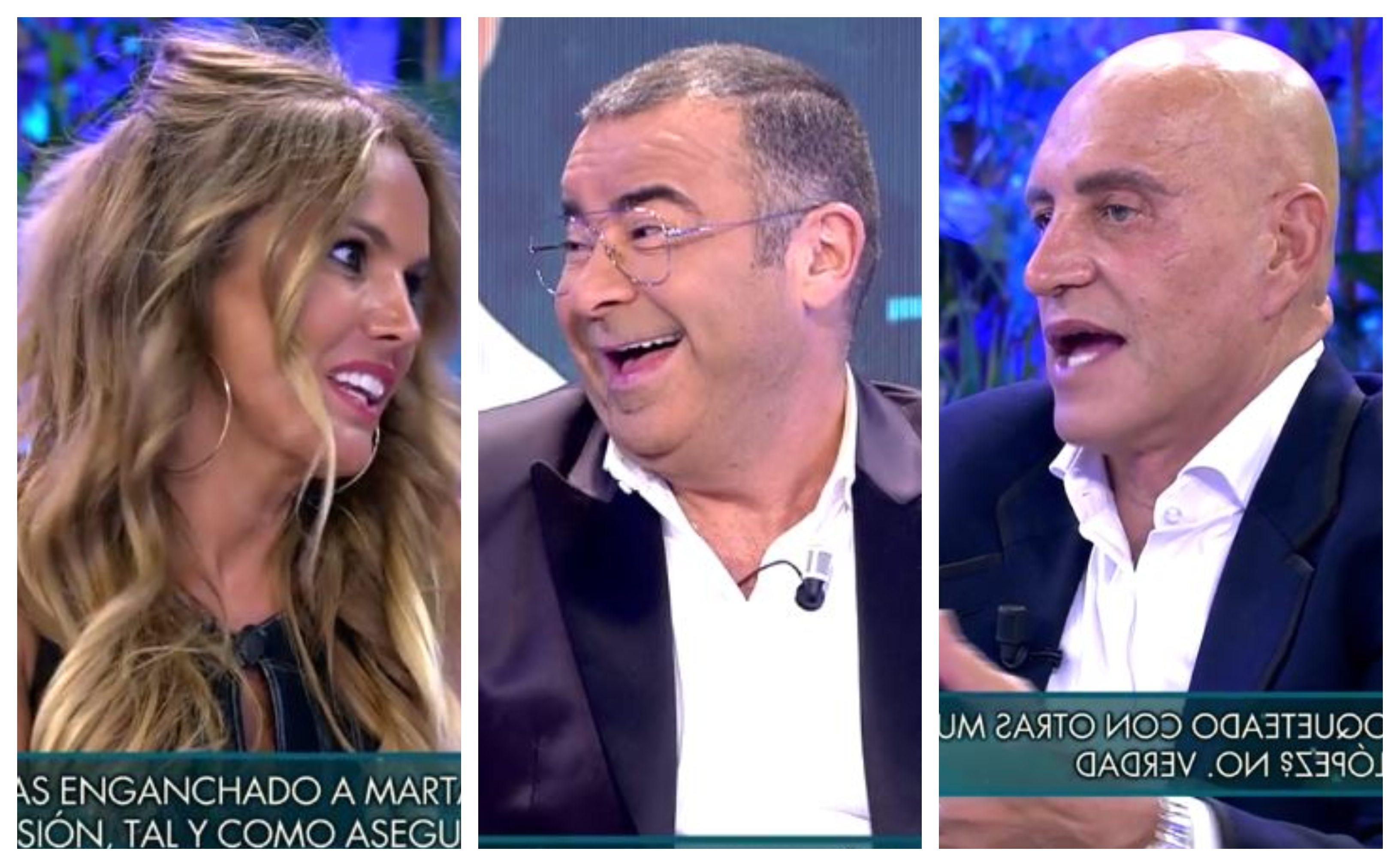 """Mofas de Jorge Javier Vázquez y Kiko Matamoros hacia Marta López por votar a VOX: """"Se nota que no entiendes"""""""