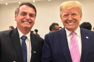Bolsonaro ratifica su alianza con Trump para acabar con Maduro y su régimen chavista