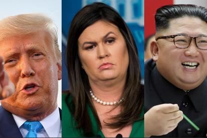 El incómodo momento que Kim Jong-un le hizo pasar a la exsecretaria de prensa de la Casa Blanca