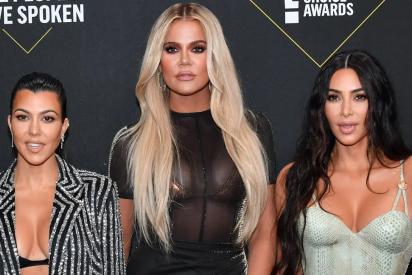 Las sensuales fotos de Kim Kardashian junto a Khloé y Kourtney para lanzar su colección 'Diamante'