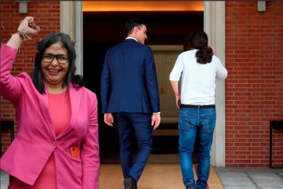 ¿Cómo Delcy Rodríguez podría generar un 'efecto dominó' que acabe con el Gobierno del PSOE-Podemos antes de 2022?