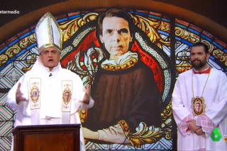 laSexta planea fumigar a Wyoming y 'Don Piso' contesta denigrando al Papa y a los católicos para salvar su programa