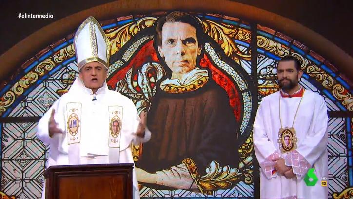 laSexta planea fumigar a Wyoming y él contesta denigrando al Papa y a los católicos