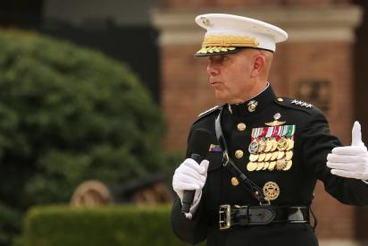 El jefe de los Marines invita a redistribuir las tropas de EEUU en el Pacífico para intimidar a China