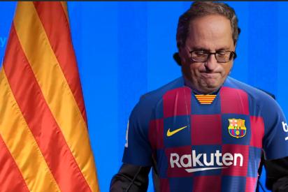 El FC Barcelona se encaja un autogol: respalda a Torra y tilda de antidemocrática su inhabilitación