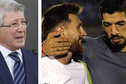 Efecto Suárez: Cerezo responde si es posible la llegada de Messi al Atlético de Madrid