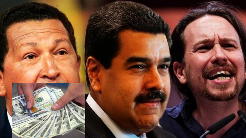 Pablo Iglesias cobró a título personal 1,36 millones pagados por los verdugos chavistas de Venezuela