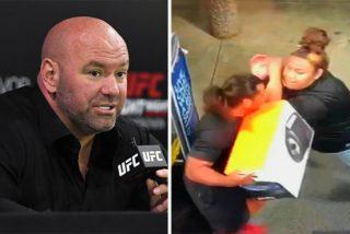 Dana White contrata para la UFC a laguardia de seguridad que propinó unapaliza a un ladrón y se hizo viral en las redes