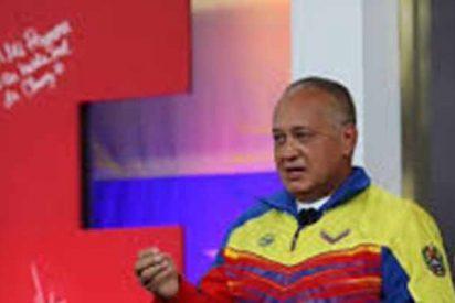 El patán de Diosdado Cabello usa la violación de una joven como excusa para atacar al presidente de Argentina