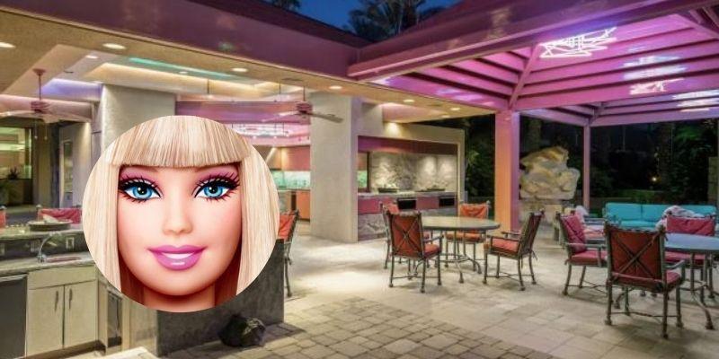 ¿Fan de Barbie? Esta es su lujosa mansión a la venta (y es de verdad)